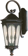 Capital Lighting 9382OB Inman Park Traditional Old Bronze Exterior Lamp Sconce
