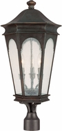 Capital Lighting 9387OB Inman Park Traditional Med. Bronze Outdoor Post Lamp