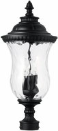 Capital Lighting 939832BK Ashford Traditional Black Post Lamp