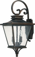 Capital Lighting 9462OB Gentry Traditional Old Bronze Outdoor Wall Light Sconce
