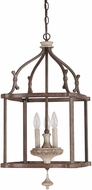 Capital Lighting 9472FO Chateau Traditional French Oak Entryway Light Fixture