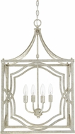 Capital Lighting 9482AS Blakely Antique Silver Foyer Light Fixture