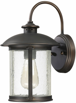 Capital Lighting 9561OB Dylan Old Bronze Exterior Wall Sconce