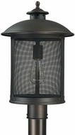 Capital Lighting 9615OB Dylan Old Bronze Outdoor Flush Ceiling Light Fixture