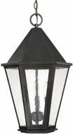Capital Lighting 9624OB Spencer Old Bronze Outdoor Hanging Light Fixture