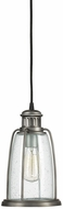 Capital Lighting 9638GR Pendant Nautical Graphite Exterior Mini Ceiling Light Pendant