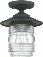 Capital Lighting 9677BK Creekside Black Exterior Overhead Light Fixture
