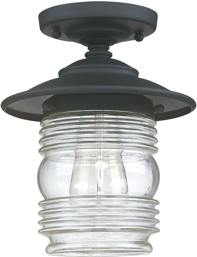 Capital Lighting 9677bk Creekside Black Exterior Overhead
