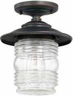 Capital Lighting 9677OB Creekside Old Bronze Outdoor Overhead Lighting Fixture