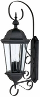 Capital Lighting 9723BK Carriage House Traditional Black Exterior Wall Lamp