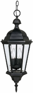 Capital Lighting 9724BK Carriage House Traditional Black Exterior Pendant Lighting