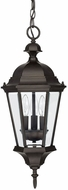 Capital Lighting 9724OB Carriage House Old Bronze Outdoor Drop Ceiling Lighting