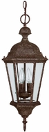 Capital Lighting 9724TS Carriage House Traditional Tortoise Outdoor Pendant Light