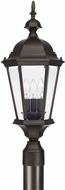 Capital Lighting 9725OB Carriage House Old Bronze Exterior Lamp Post Light