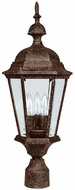 Capital Lighting 9725TS Carriage House Traditional Tortoise Outdoor Lamp Post Light