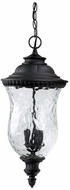 Capital Lighting 9786BK Ashford Traditional Black Exterior Lighting Pendant