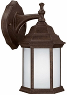 Capital Lighting 9830TS-GU Energy Saver Traditional Tortoise Fluorescent Outdoor Wall Sconce