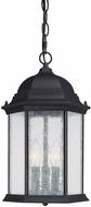 Capital Lighting 9836BK Main Street Traditional Black Exterior Hanging Lamp