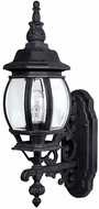 Capital Lighting 9867BK French Country Traditional Black Outdoor Wall Lamp