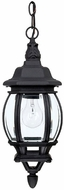 Capital Lighting 9868BK French Country Traditional Black Exterior Pendant Lighting Fixture