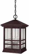 Capital Lighting 9914MZ Preston Mediterranean Bronze Exterior Hanging Pendant Light