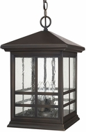 Capital Lighting 9914OB Preston Old Bronze Exterior Drop Ceiling Light Fixture