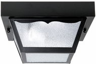 Capital Lighting 9939BK Black Outdoor Carport Flush Mount Light Fixture