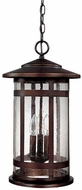 Capital Lighting 9954BB Mission Hills Burnished Bronze Exterior Pendant Hanging Light