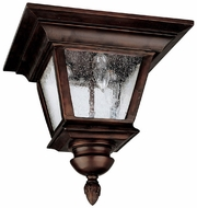 Capital Lighting 9968BB Brookwood Traditional Burnished Bronze Exterior Overhead Light Fixture