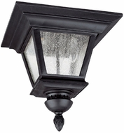 Capital Lighting 9968BK Brookwood Traditional Black Outdoor Overhead Lighting Fixture