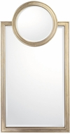 Capital Lighting M462401 Brushed Silver Wall Mirror