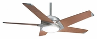 Casablanca 64826 Stealth 54 Inch Span Brushed Nickel Finish Contemporary Ceiling Fan