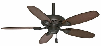 Casablanca 53195 Fordham Brushed Cocoa Finish Home Ceiling Fan - 44  Wide