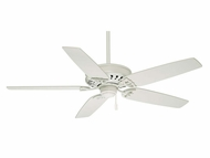 Casablanca 54019 Concentra Snow White Finish Transitional Pullchain Ceiling Fan