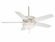 Casablanca 54022 Concentra Gallery Snow White Finish Transitional Fluorescent Downlight Ceiling Fan