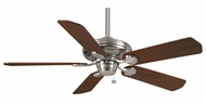 Casablanca 54029 Capistrano Transitional Brushed Nickel Ceiling Fan With Pull Chain & Blade Options