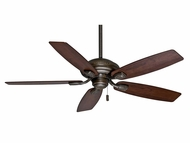 Casablanca 54036 Utopian 52 Inch Span Aged Bronze Ceiling Fan With Black Mahogany Blades