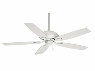 Casablanca 54037 Utopian Snow White Finish Transitional 52 Inch Span Ceiling Fan
