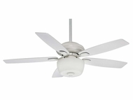 Casablanca 54041 Utopian Gallery 4 Speed ABS Blade Snow White Finish Ceiling Fan Lighting