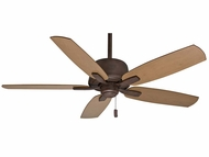 Casablanca 54121 Areto Industrial Rust Finish 60  Wide Home Ceiling Fan