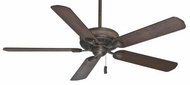 Casablanca 55002 Ainsworth Transitional Provence Crackle Finish Smoked Walnut/Espresso Blade Ceiling Fan