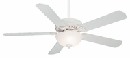 Casablanca 55005 Ainsworth Gallery 60 Inch Span Transitional Cottage White Home Ceiling Fan Light