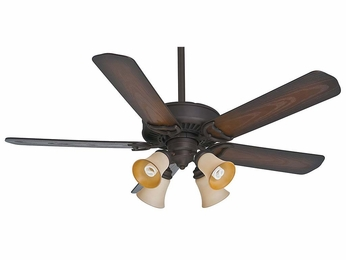 Casablanca 55060 Panama® Gallery Maiden Bronze Finish Home Ceiling Fan - 54  Wide