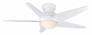 Casablanca 59021 Isotope Contemporary 4 Speed Snow White Ceiling Fan