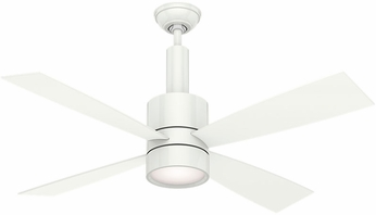 Casablanca 59070 Bullet Snow White Halogen 54  Snow White Ceiling Fan