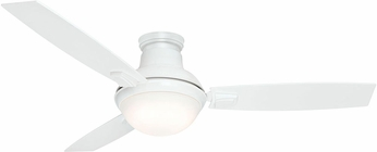 Casablanca 59158 Verse Modern Fresh White LED 54  Ceiling Fan