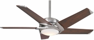 Casablanca 59164 Stealth DC Contemporary Brushed Nickel LED 54 Home Ceiling Fan