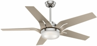 Casablanca 59197 Correne Brushed Nickel LED 56  Champagne Home Ceiling Fan