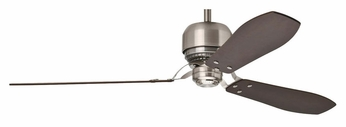 Casablanca 59504 Tribeca 3 Blade Brushed Nickel 4 Speed Home Ceiling Fan