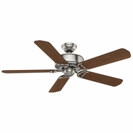 Casablanca 59511 Panama DC Remote Controlled 6 Speed Brushed Nickel Ceiling Fan - 54 Inch Span